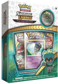 Pokémon TCG - Shining Legends: Marshadow Pin Collection (Trading Card Game) - Cover