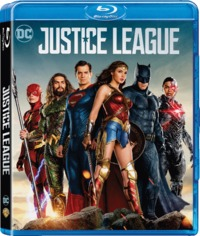 Justice League (Blu-ray) - Cover