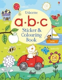 Abc Sticker and Colouring Book - Jessica Greenwell (Paperback) - Cover
