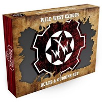 Wild West Exodus - Rules and Gubbins Set (Miniatures) - Cover