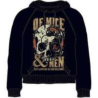 Of Mice & Men Leave Out Mens Black Hoodie (X-Large) - Cover