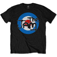 The Jam Spray Target Logo Mens Black T-Shirt (Large)