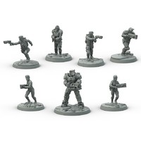 Fallout: Wasteland Warfare - Brotherhood of Steel Box (Miniatures) - Cover