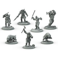 Fallout: Wasteland Warfare - Super Mutants Faction Box (Miniatures) - Cover