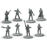 Fallout: Wasteland Warfare - Survivors Faction Box (Miniatures) - Cover