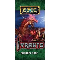 Epic Card Game - Tyrants Expansion Pack - Draka's Rage (Card Game)