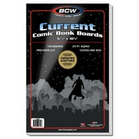 Current Comic Book Backing Boards (100 boards) - Cover