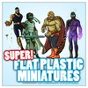 Flat Plastic Mini: Supers! (Miniatures)