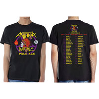 Anthrax Wardance Pale Alemen's Mens Black T-Shirt (X-Large) - Cover