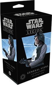 Star Wars: Legion - Commander Expansion: General Veers (Miniatures) - Cover