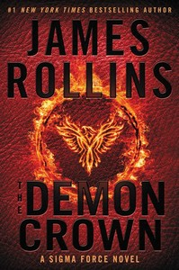 The Demon Crown - James Rollins (Paperback) - Cover