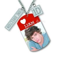 "One Direction Liam 16"" Dog Tags (Necklace) - Cover"