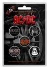 AC/DC - For Those About to Rock Button Badges (Pack of 5)