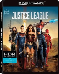Justice League (4K Ultra HD + Blu-ray) - Cover