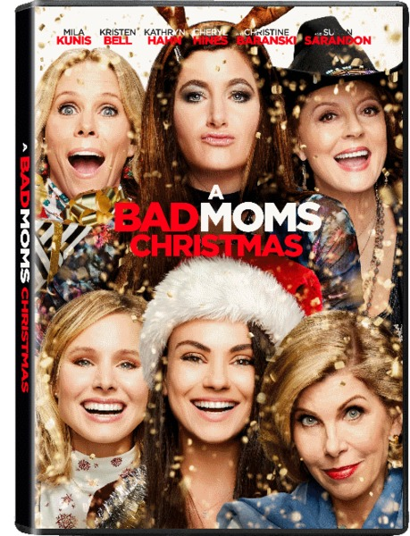 A Bad Moms Christmas Dvd Cover.A Bad Moms Christmas Dvd