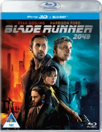 Blade Runner 2049 (3D Blu-ray) - Cover
