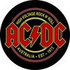 AC/DC High Voltage Rock N Roll (Back Patch)