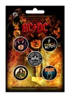AC/DC Highway to Hell 5 Button Pack (Button Badge)
