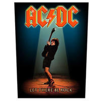 AC/DC Let There Be Rock (Back Patch)