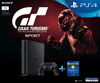 Sony PlayStation 4 Slim 1TB Console + 90 Day PSN + GT Sports (PS4)