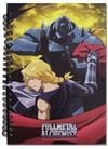 Fullmetal Alchemist Brotherhood - Ed and Al Ready Notebook