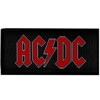AC/DC - Red Logo (Patch) - Cover