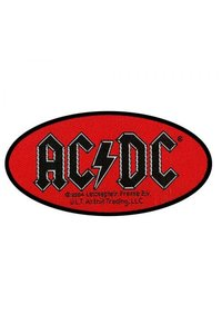 AC/DC - Oval Logo (Patch) - Cover