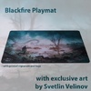 Blackfire - Playmat: Svetlin Velinov Edition Swamp - Ultrafine 2mm
