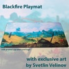 Blackfire - Playmat: Svetlin Velinov Edition Plains - Ultrafine 2mm