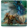 Ultra Pro - Play Mat: Magic the Gathering - Duel Deck Merfolk vs Goblins