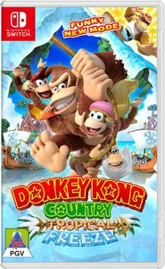 Donkey Kong Country: Tropical Freeze (Nintendo Switch) - Cover