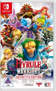 Hyrule Warriors - Definitive Edition (Nintendo Switch) - Cover