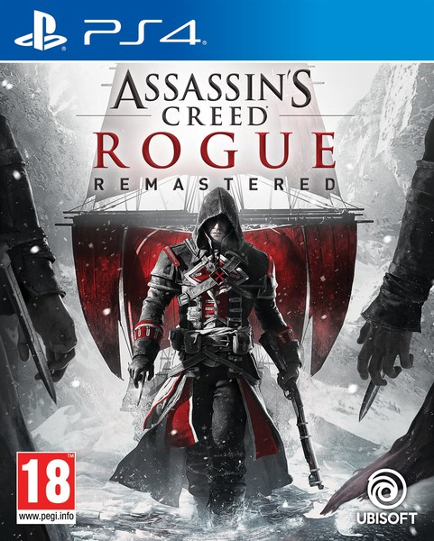 Kết quả hình ảnh cho Assassin's Creed Rogue Remastered cover ps4