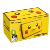 Nintendo - 2DS XL Handheld Console + Pikachu Edition