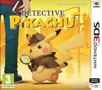 Detective Pikachu (3DS) - Cover