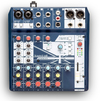 Soundcraft Notepad 8 Notepad Series 8 Channel Mixer with USB and Lexicon Effects