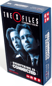 The X-Files - Conspiracy Theory - Everything is Connected (Party Game) - Cover