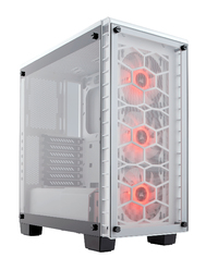 Corsair - 460X RGB Midi-Tower ATX PC Case (No PSU)