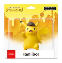 Nintendo amiibo - Detective Pikachu (13.6 cm) (For 3DS/Wii U/Switch)