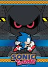 Sonic the Hedgehog - Dark Robot Wall Scroll