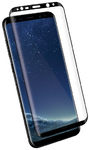 Kanex EdgeGlass Glass Screen Protector for Galaxy S8+ - Clear and Black