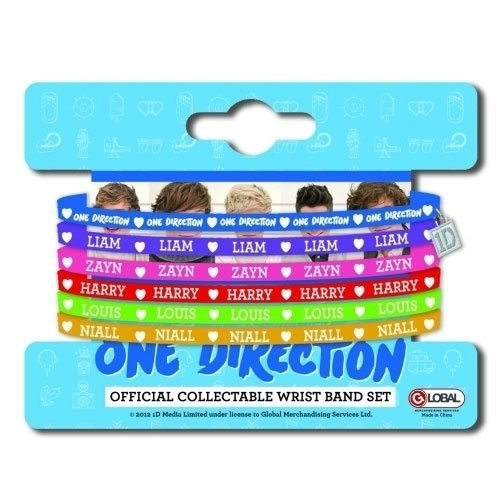 One Direction - 5mm Gummy Set Phase 4 Range (Braclet)