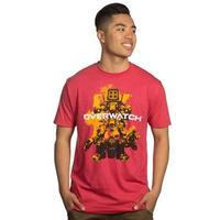 Overwatch - Build Em up Premium T-Shirt (Large)