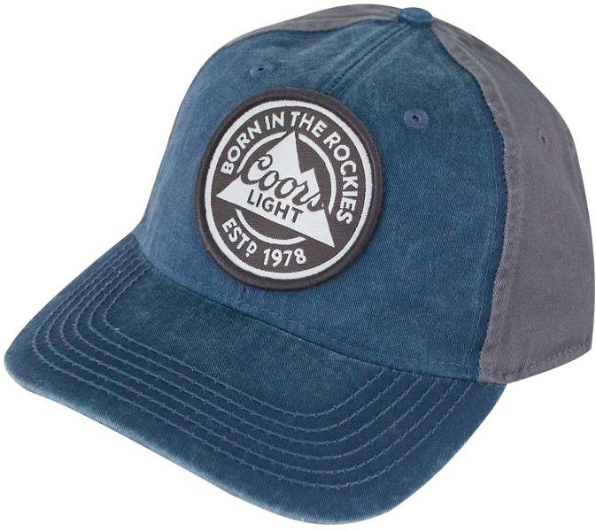 935b6a587cc20 COORS Banquet Light Blue Mesh Snapback Hat - Merch Online