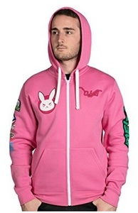Overwatch - Ultimate D.Va Zip-up Hoodie (Medium) - Cover