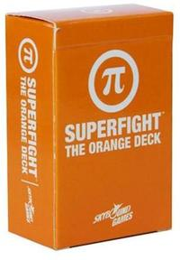 Superfight - The Orange Deck (Card Game) - Cover