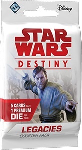 Star Wars: Destiny - Legacies Booster Pack (Collectible Dice Game) - Cover