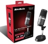 AVerMedia AM310 Uni-Directional USB Microphone (Black)