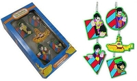 The Beatles - Yellow Submarine Love Christmas 5 Piece Ornament Set - Cover