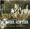 Guns N Roses - New York, New York (Live At Ritz 1998 - FM Radio Broadcast) (CD) Cover